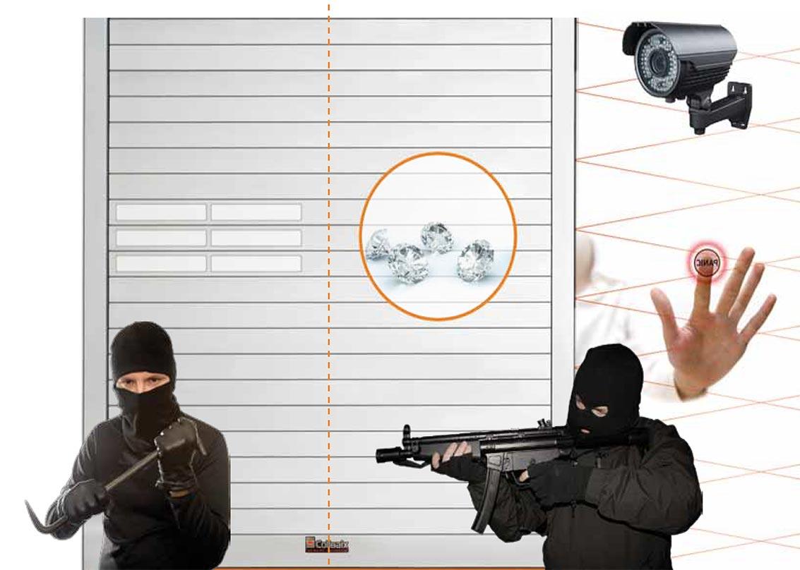 Proteggi la tua attività con le serrande di sicurezza