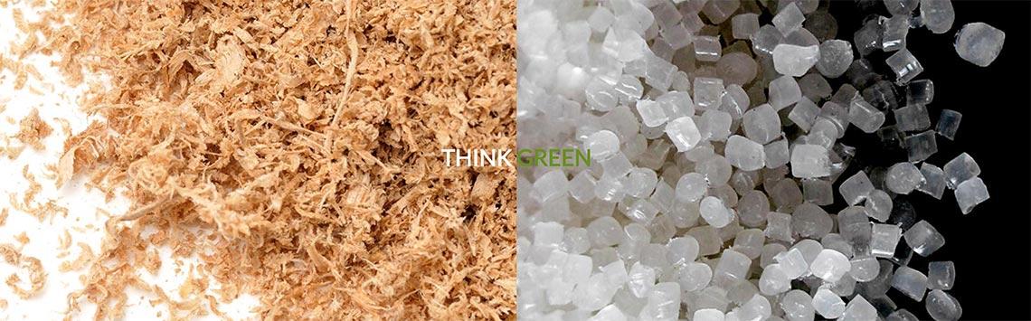 TBT rispetta l'ambiente ed utilizza prodotti alto potenziale di reciclaggio