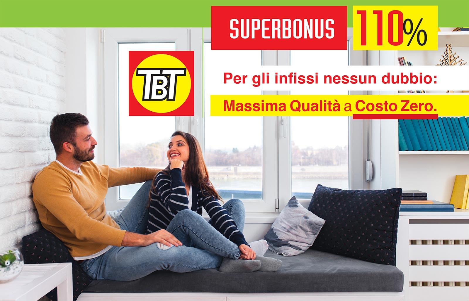 TBT - Superbonus del 110% sugli infissi