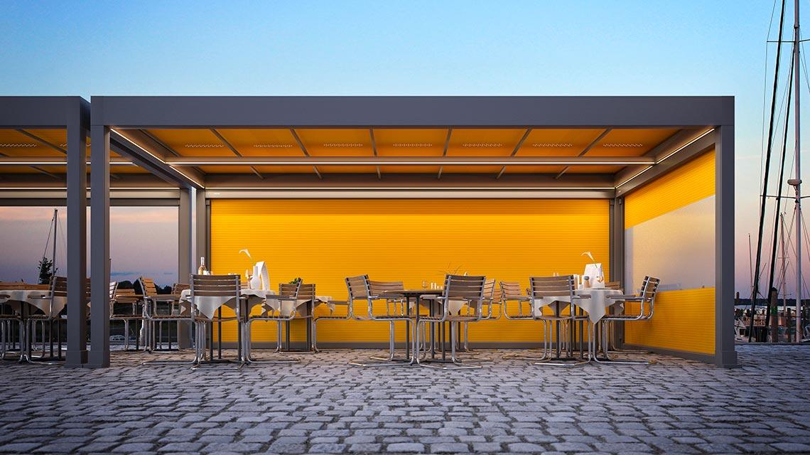 TBT sfrutta con eleganza e design gli spazi all'aperto della tua attività