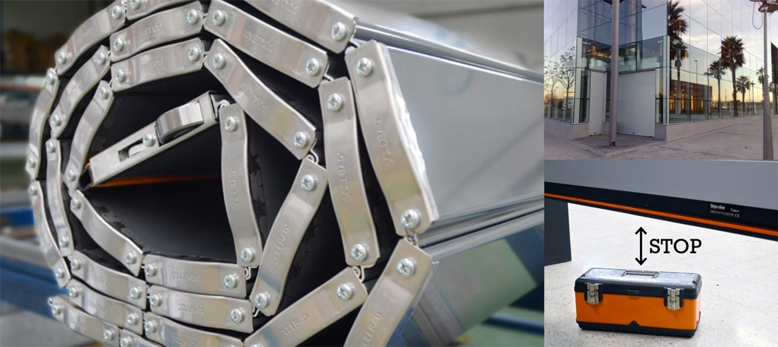 TBT - Serrande di sicurezza Callbaix avvolgibili industriali