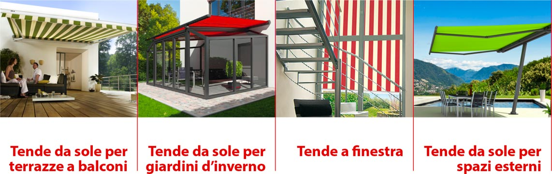 TBT - Tende da sole per terre e balconi, per giardini d'inverno, tende a finestra, tende da sole per esterni