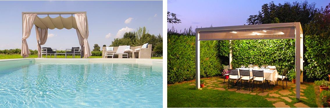 TBT - Arreda i parchi e le piscine delle case di lusso