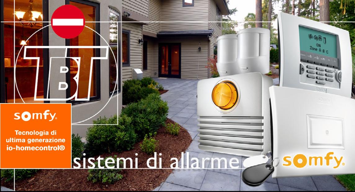 Sistemi di allarme Somfy